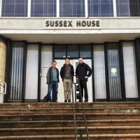 Councillor-David-Gibson-with-Simon-Lambor-and-Councillor-Tom-Druitt-wide